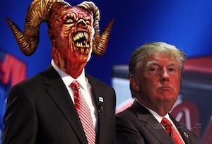 Trump New Satan