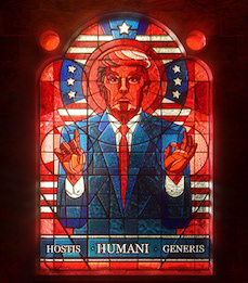 Trump Church Window