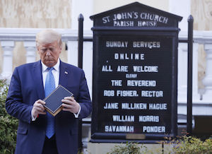 Trump with Bible